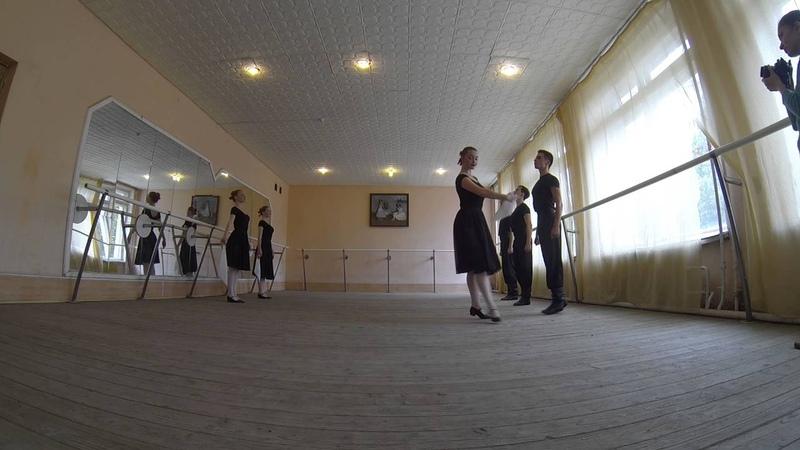 Русский танец, экзамен 3 курс 14.06.2016 часть 2