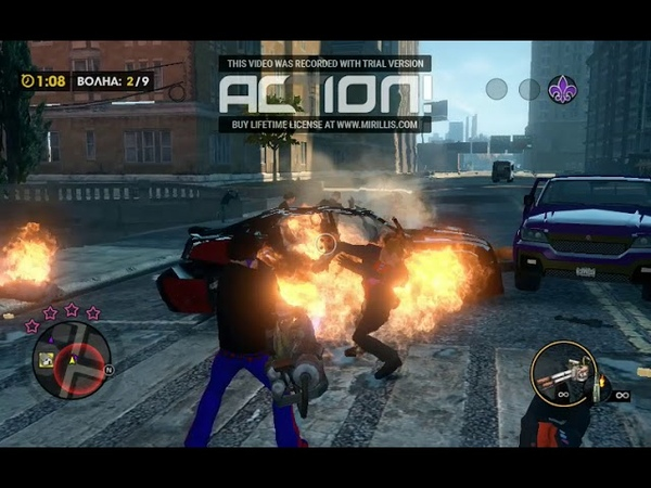 Стрим Saints Row The Third