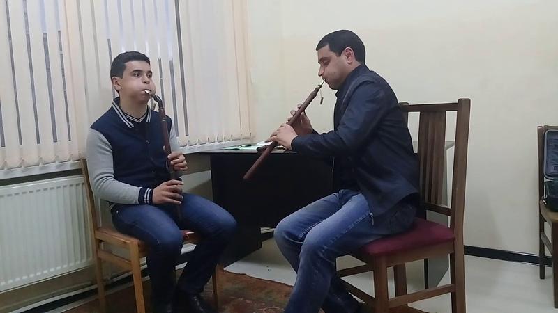 Vache Pashinyan ( duduk in F ) Bayati Shiraz