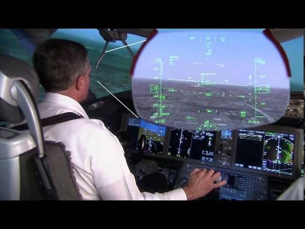 787 Dreamliner - Dual Head Up Displays (HUD)