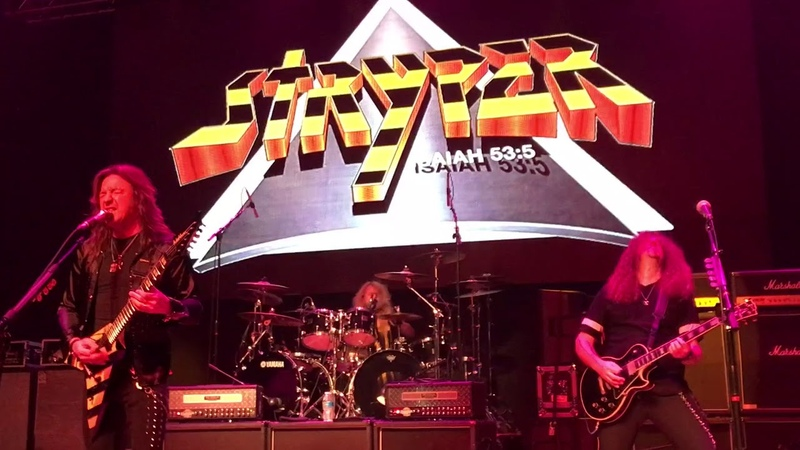 Stryper 9818 Saint Charles Illinois with howie Simon in for oz fox