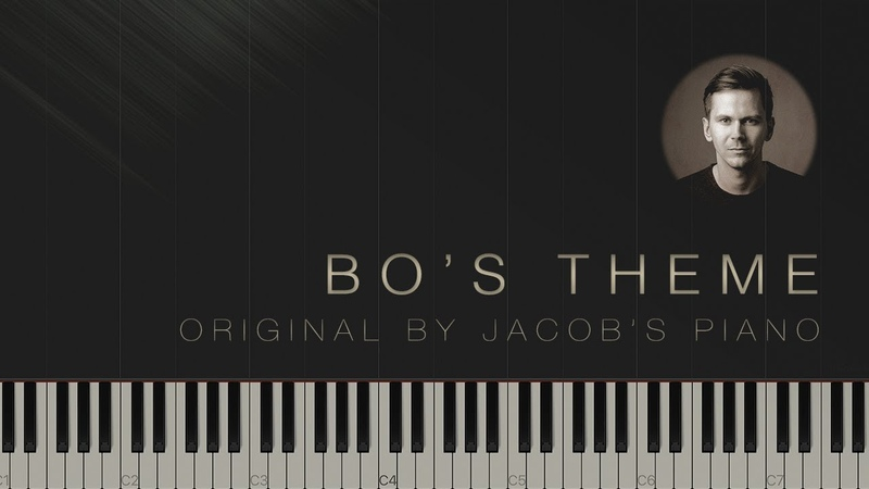 Bos Theme - Jacobs Piano \\ Synthesia Piano Tutorial