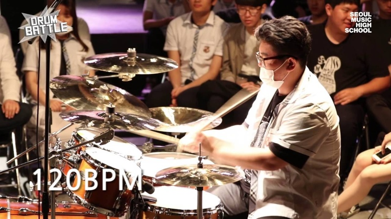 [Drum Battle 2] 한번 본 사람은 없다   드럼전쟁 시즌2 준결승①_A (TECHNIC)