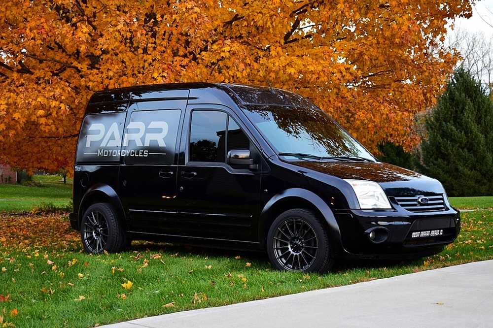 PARR Motorcycles: Moto Van - кастомный Ford Transit Connect