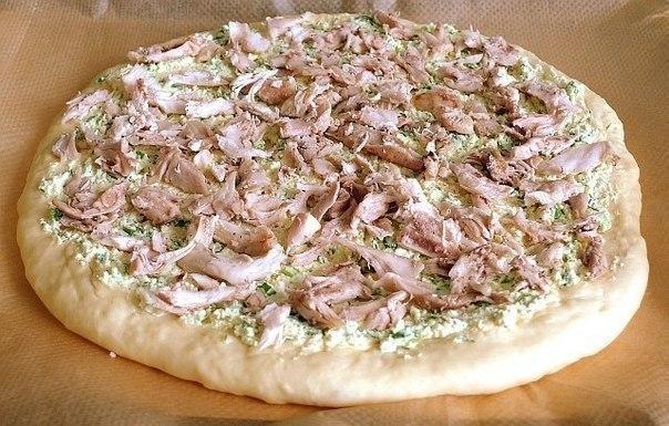 Деревенская пицца. Невероятно вкусная!