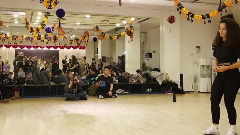 Albir Rojas Laura De Paz Mora @ Seoul Kizomba Competition 2018