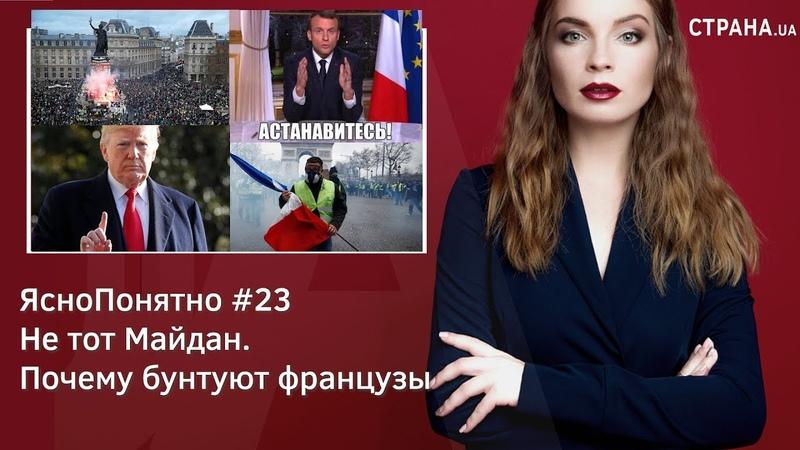 Не тот Майдан. Почему бунтуют французы | ЯсноПонятно 23 by Олеся Медведева