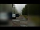 Гейзер из кипятка забил на Васильевском острове