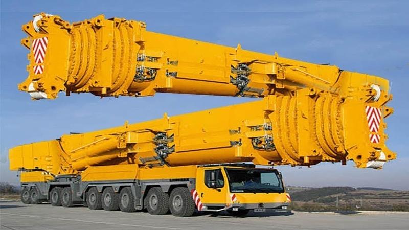 利勃海爾起重機果然厲害,不愧是德國制造業的代表