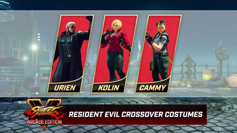 Street Fighter V Arcade Edition - Resident Evil Costumes