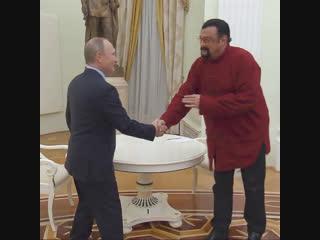 На русском с Путиным