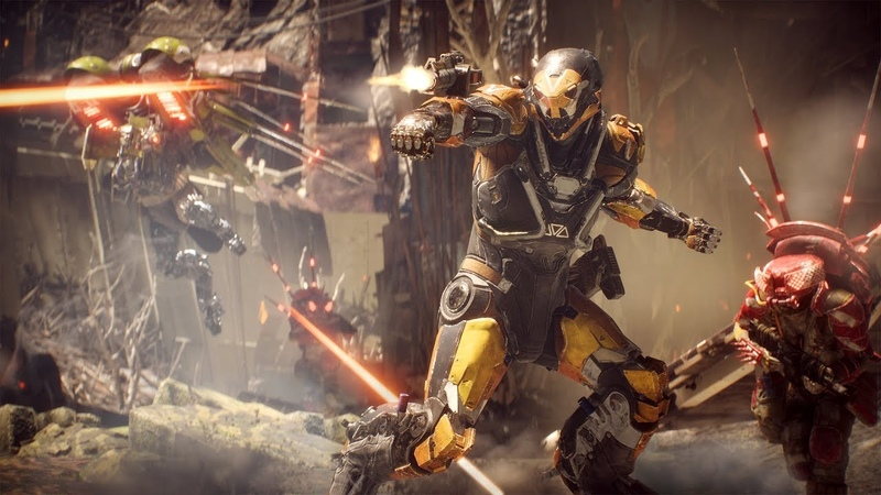 Pre-launch Gameplay and QA – Anthem Developer Livestream from February 20