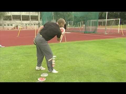 Gerd Kanter - Disc Foot Pick Up Challenge