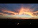 Осенний закат в Красково. Небо жжёт! Russia russiannature Красково красиво пейзаж видизокна kraskovo landscape view n