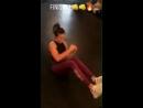 Nina Dobrev dans une salle de sport à Los Angeles hier (3)