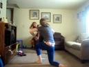 Blindfolded wrestling D