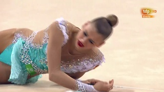 Aleksandra Soldatova. 2018 World Rhythmic Gymnastics Championships. Ribbon Final