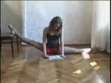 SLs Flexible girl reading