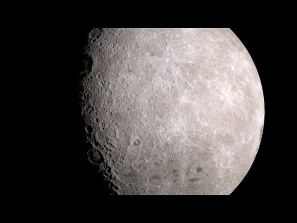Moonlight (Clair de Lune) 4K Version - Moon Images from Lunar Reconnaissance Orbiter