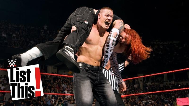 John Cena's 5 rarest matches WWE List This