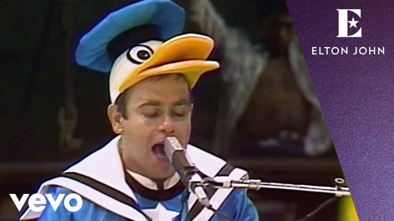Elton John - Your Song (Central Park, NYC 1980)