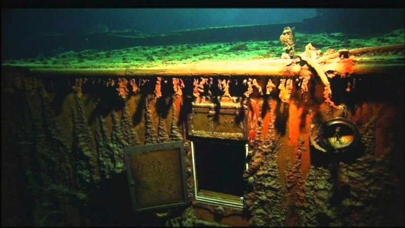 Титаник на дне океана 2