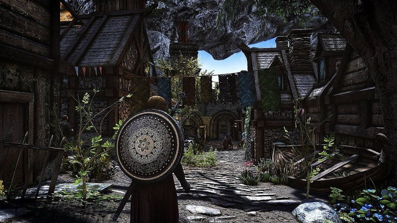 4K Skyrim SE: FINALLY! Next Gen ultra mod graphic showcase gameplay | Apex ENB | MODLIST |
