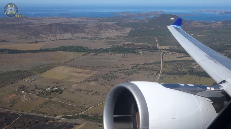 Majestic Take-Off from Paradise Island Noumea: Aircalin Airbus A330 [AirClips]