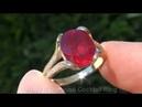 Genuine Ruby Diamond Ring Solid 14K - eBay AUCTION $1