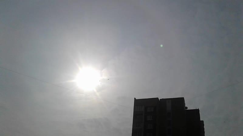 15 марта - СОЛНЦЕ, Москва, начало видеосъемки 10 часов 44 мин 07 сек (2019-03-15 10-44-07)