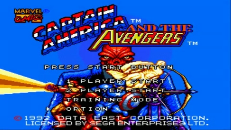 Captain America and the Avengers SEGA Прохождение