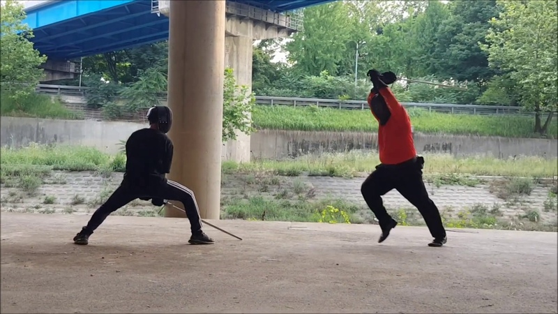 Longsword Sparring Compilation 20180722