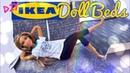 DIY - How to Make: IKEA Doll Beds PLUS Custom Bedding