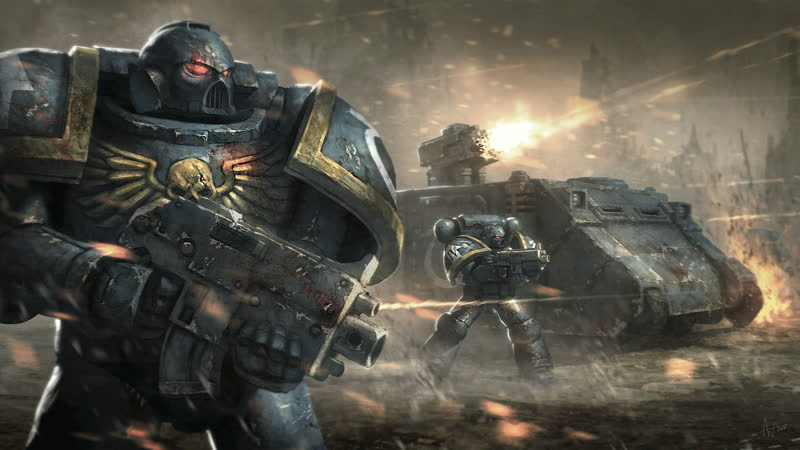 Warhammer 40000 Space Marine Tribute - We are the Gods of the New World Order