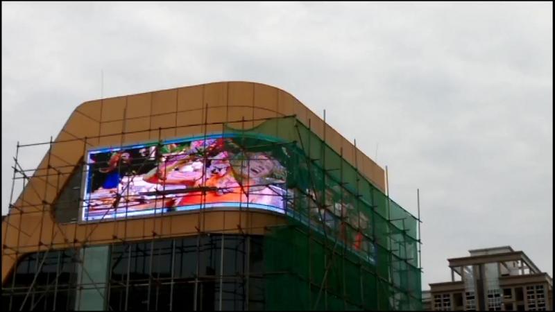 светодиодный медиафасад шаг пикселя 10мм в Китае