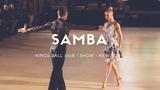 Riccardo Cocchi - Yulia Zagoruychenko | Samba | Showcase | Kings Ball 2018