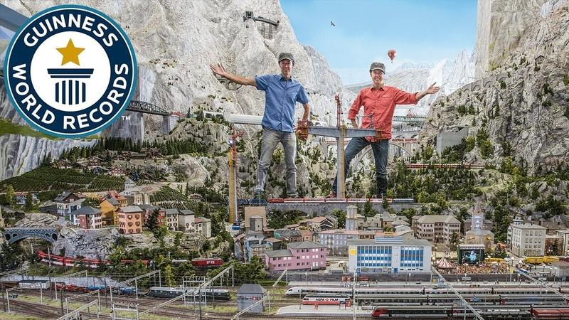 Miniatur Wunderland: Largest model train set - Meet The Record Breakers
