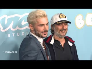 Zac Efron and Harmony Korine at the Los Angeles Premiere for Neon & Vice Studio's 'The Beach Bum'