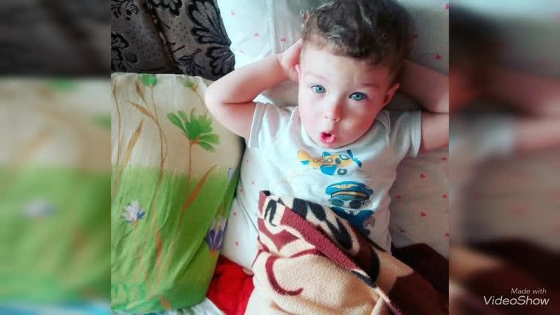 Сыночку 3 года,под песню Дениса Кляр