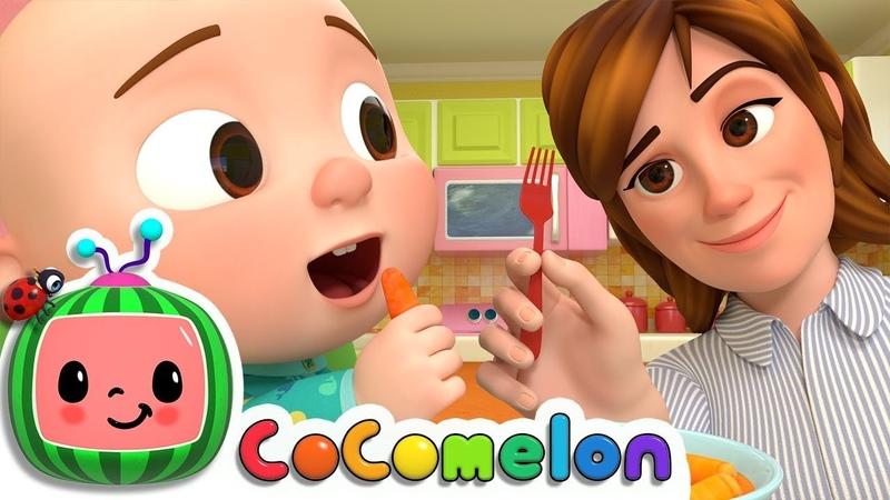 Yes Yes Vegetables Song | CoCoMelon Nursery Rhymes Kids Songs