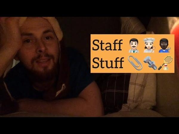 Staff vs Stuff | Lynchie English