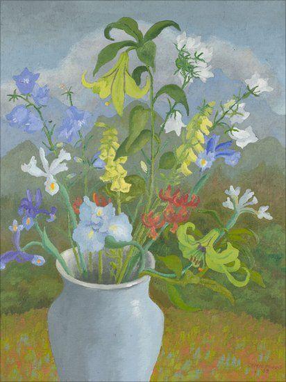 Sir Cedric Morris (British, 1889-1982) Родился в Setty, Swansea в семье промышленника, который вел происхождение от первого баронета Morris. Мать работала дома и увлекалась живописью. В возрасте