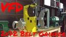 Oregon Blade Maker 2x72 Belt Grinder Review and VFD setup