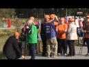 Пенсионеры Сургутского района соревнуются в скандинавской ходьбе