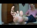 Mature 35 yo woman candid big feet size 11 US