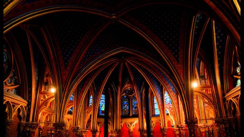 Sainte Chapelle Paris-22/10/2011 HD