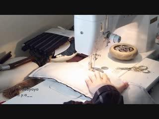 DIY MINI BACKPACK _⁄ THRIFT FLIP + Refashion _⁄ リメイクファッション _⁄ Costura _⁄ Sewing Tutorialㅣmadebyaya