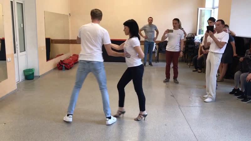 🎥 Резюме урока по танцу ✨Сальса✨- 21.05.19. Начальная Группа.