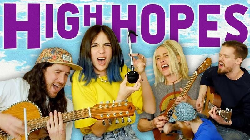 HIGH HOPES - Gabriela Bee Walk Off The Earth (Cover)