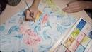 Gake no ue no Ponyo watercolor fanart